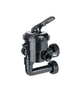 """Válvula selectora 1 1/2"""" con conexión a filtro. Modelo: New Generation. Variante 3"""