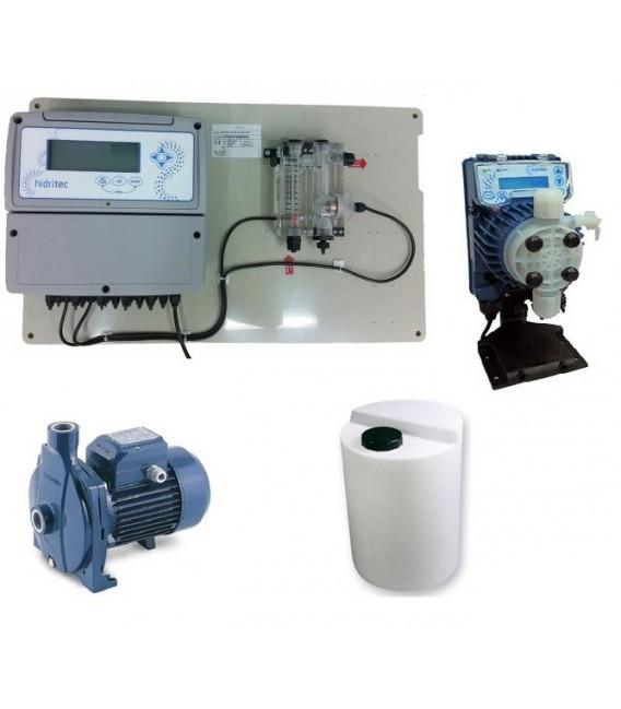 Kit completo para sistema de cloración en depósitos de agua hasta 50 m3