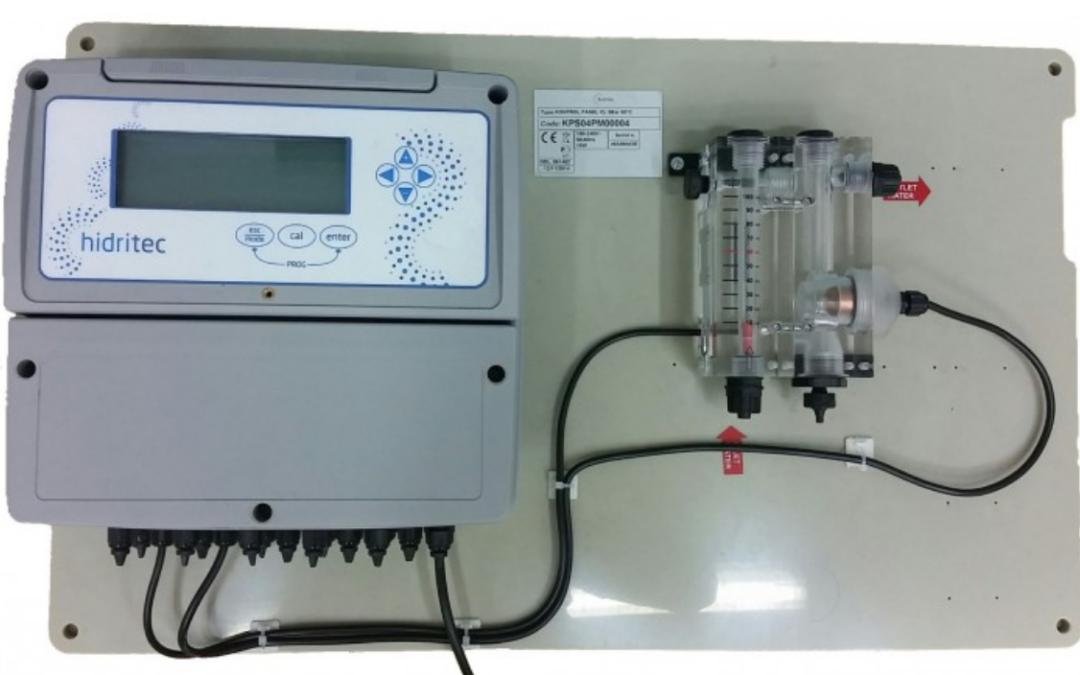Hidritec K800, el referente en equipos amperométricos de medición y control de cloro libre